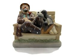 Original Emmett Kelly Circus Collection Hobo On Park Bench 3138 15000 $19.00