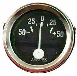 Ampere Gauge Fit Willys Mb Jeep Fd Mb, Gpw, Cj2a, Cj3a And Early Chrome Bezel