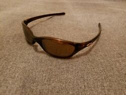 Oakley Fives 2.0 Root beer Frames w Gold Iridium Lenses Very Rare Vintage $149.00