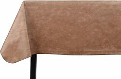Yourtablecloth Heavy Duty Vinyl Rectangle Or Square Tablecloth Andndash 6 Gauge Heavy D