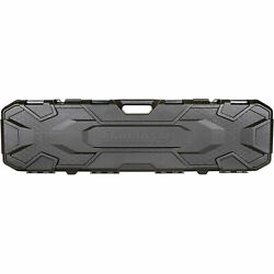 Hard Case Rifle Gun Firearm Carrying Storage Lockable Padded Long Scoped Black