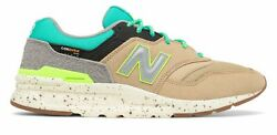 New Balance Menand039s 997h Shoes Tan With Blue