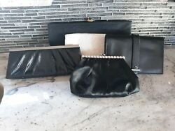 Mixed Lot of Name Brand Evening Clutch Bags Preowned $60.00