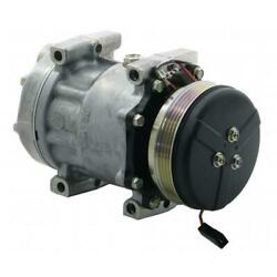 883789035 Sanden Sd7h15 Compressor, W/ 4 Groove Clutch - New Fits Agco