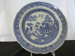 Spode Blue Room Collection Willow Dinner Plate - Made In England.