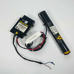 Used Melles Griot Laser Head 05-lhr-633 With Power Supply 05-lpm-901-050