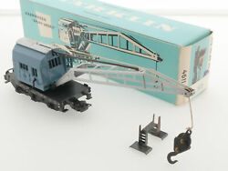 Mandaumlrklin 4611 Crane 1966 Light Blue Carton Boxed 1610-06-61