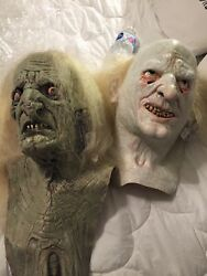 Crypt Keeper And Hag Horror Dome Not Distortions Unlimited Don Post Latex Mask