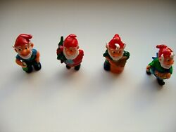 Kinder Surprise Set Figurines Animals Dwarfs Gnomes Totems Figures