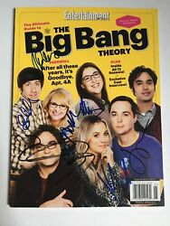 Big Bang Theory Cast Signed Entertainment Weekly Ultimate Guide Collectors Ed
