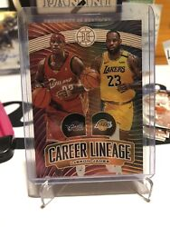 Gold 93/125 Lebron James 2019-20 Illusions Career Lineage Ssp 93/125