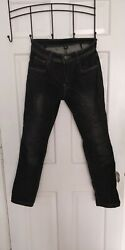 Street And Steel Oakland Blue Denim Motorcycle Jeans 28x28