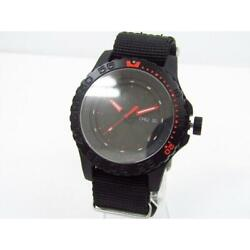 Traser P66 Red Combat Quartz From Japan Used Watch Excellent Condition [e1013]