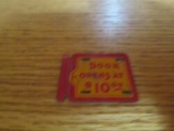 Vintage Toy Tin Litho Part Door Opens At 10.00