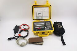 Riser Bond 1205t-osp Dual Metallic Tdr Cable Locator New Battery, Cables, Great