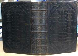 1708 And039holy Bibleand039 Fine Contemporary Gilt Tooled Binding. Scripture / Theology