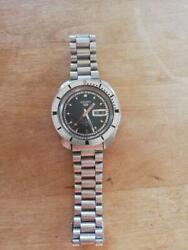 Seiko 5 Sports 5126-8090 Day Date Vintage Rare Automatic Mens Watch Auth Works