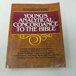 Young's Analytical Concordance To The Bible 0802881653