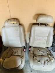 97 Landcruiser Fj80 Toyota Interior Front Second And Third Seats Tan Used