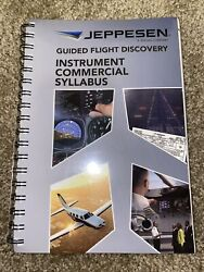 Jeppesen Guided Flight Discovery Instrument/commercial Syllabus - 10001785-004