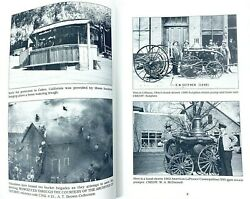 Vintage Antique Fire Truck Engine Photo Book Collection Reference Restoration
