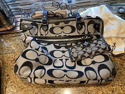 used large tote coach bags $180.00