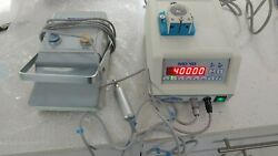 Nouvag Md-10 Dental Implant Motor Console With Motor.