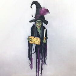 Katherine's Collection Haunted Wall Witch Halloween 2020 28-028717