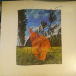 Pink Floyd Signed Album Dust Cover