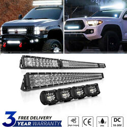 Dual-rows 42inch Led Light Bar Combo+22 +4 18w Beam For Jeep Wrangler