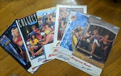 Lot Of 6 Vintage Snap On Tools Pinup Calendars Issue Collectable