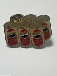 Vintage 1970s Pepsi-cola Have A Pepsi Day Pin