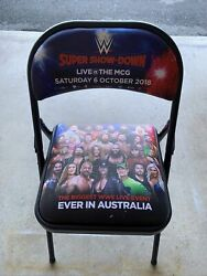 Wwe Super Show-down Ringside Chairs 2 - October 6 2018 - Melbourne Australia