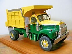Mack B70 Single Axle Dump Truck 1/25th Scale By A.i.m. Resin Cast Price Reduced