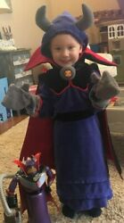 Euc Halloween Disney Pixar Buzz Villain Zurg Plush Costume Toy Story Childandrsquos Xxs