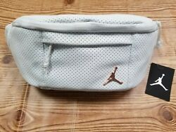 Nike Air Jordan Jumpman Legacy White Cross Body Unisex Fanny Pack Shoulder Bag $29.90