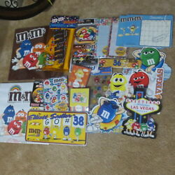 Mandmand039s Collection20 Calender/memo/license Plate/stickers/las Vegas/pouch/magnet