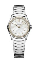 Brand New Ebel 29mm Stainless Steel 18k Rose Gold Ladies Sport Classic 1216453a