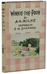 Winnie The Pooh A. A. Milne First American Edition 1st Printing Dj 1926 Aa