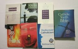 Seven Christian Catholic Book Lot Youth Bible Devotions Relationships
