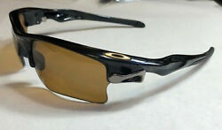Oakley Sunglasses: Fast Jacket XL Polished Black BNronze Polarized $84.99
