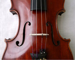Old German Master Violin Schuster And Co - See Video - Antique バイオリン скрипка 438
