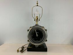 Antique Uss Cabnillo Ww1 And Ww2 Pitometer Log Converted Lamp