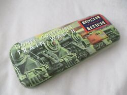 Lionel Legendary Trains Collectible Watch In Gift Tin, Buckle Band