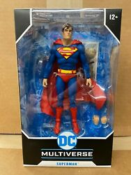 McFarlane DC Multiverse SUPERMAN 7quot; Action Figure IN STOCK