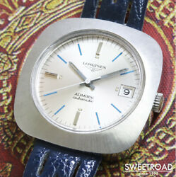 Longines Admiral New Old Stock Vintage Automatic Mens Watch Authentic Working