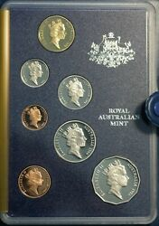 1 X Australian 1986 10c Coin From This Proof Set