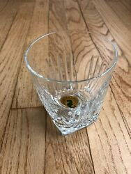 Waterford Crystal Clarion Double Old Fashioned - Dof Small Chip