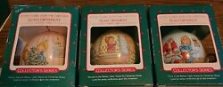 Hallmark 1986 To 1991 Betsy Clark Home For Christmas Complete Set--6 Ornaments