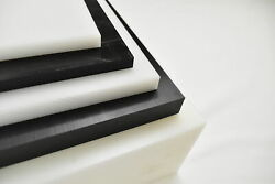 Natural White Delrin / Acetal Copolymer Plastic Sheet 3 X 6 X 48